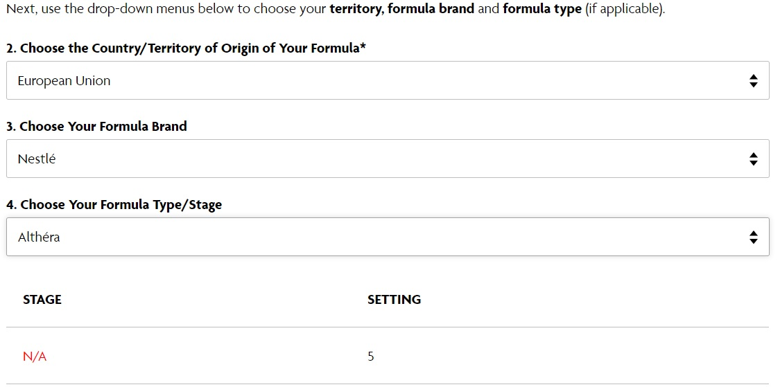 Nestle-Althera espressor Formula Pro Advenced