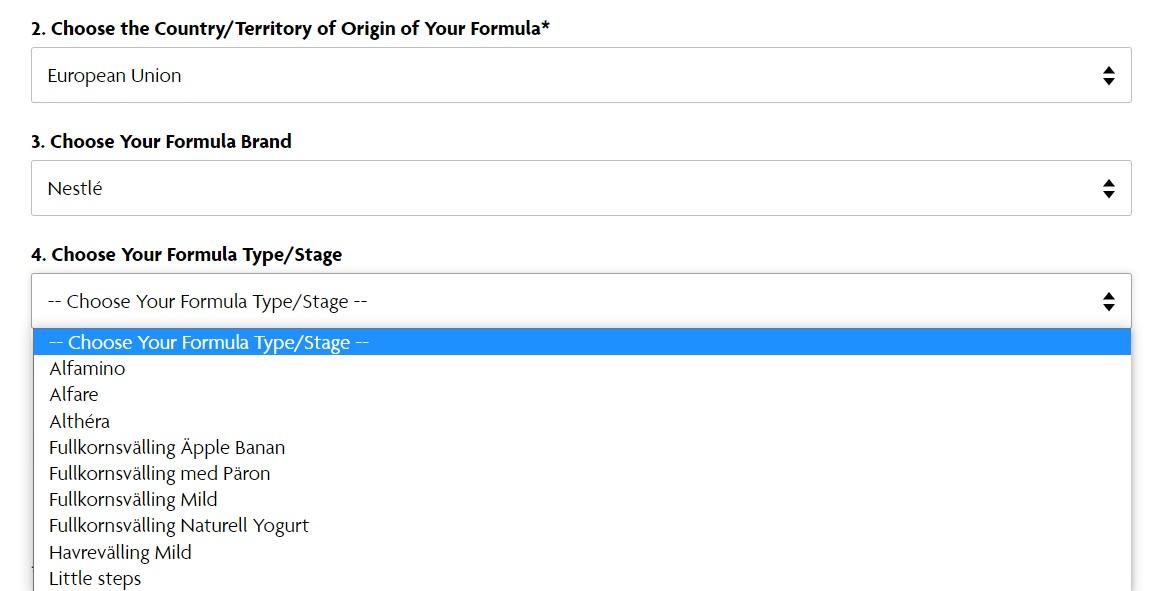 formule lapte praf Nestle espressor Formula Pro Advanced
