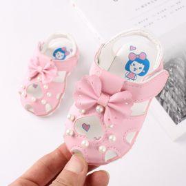 Sandalute roz - Heart LI106-1-p26.Marimea 21