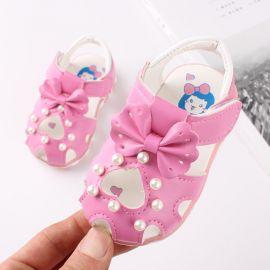 Sandalute roz inchis - Heart LI106-3-bo4.Marimea 21