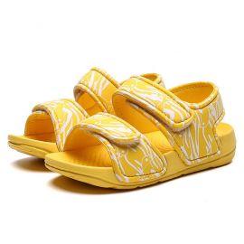 Sandale galbene - Delfinas MDA66-5-p25.Marimea 23