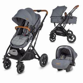 Carucior 3in1 ultracompact Coccolle Ravello Urban Grey SMB320061052
