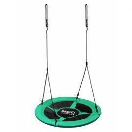 Leagan tip cuib pentru copii XXL, 95 cm, 150 kg, Neo-Sport 1001, Verde EDEEDI1001