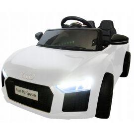 Masinuta electrica cu telecomanda Audi R8 R-Sport - Alb EDEEDIR8ALB