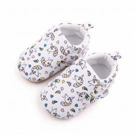 Botosei albi pentru bebelusi - Ponei (Marime Disponibila: 6-9 luni (Marimea 19 incaltaminte)) MBd2598-1-bo6