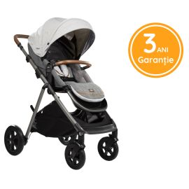 Joie - Carucior multifunctional, reglabil pe inaltime Aeria Signature, Oyster BBBS1910AAOYS000