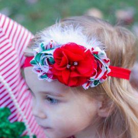 Bentita fetite cu flori (Marime Disponibila: 0-12 luni) MDMS133-CR